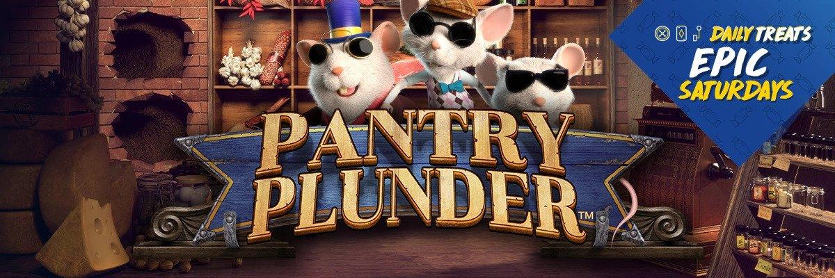 Μεγάλη *Προσφορά κάθε Σάββατο στο Pantry Plunder!