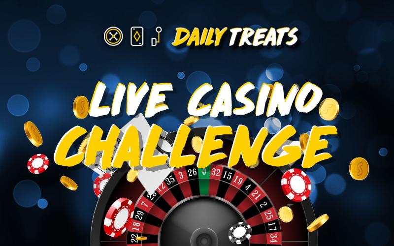 Stoiximan Live Casino Challenge κάθε Τρίτη