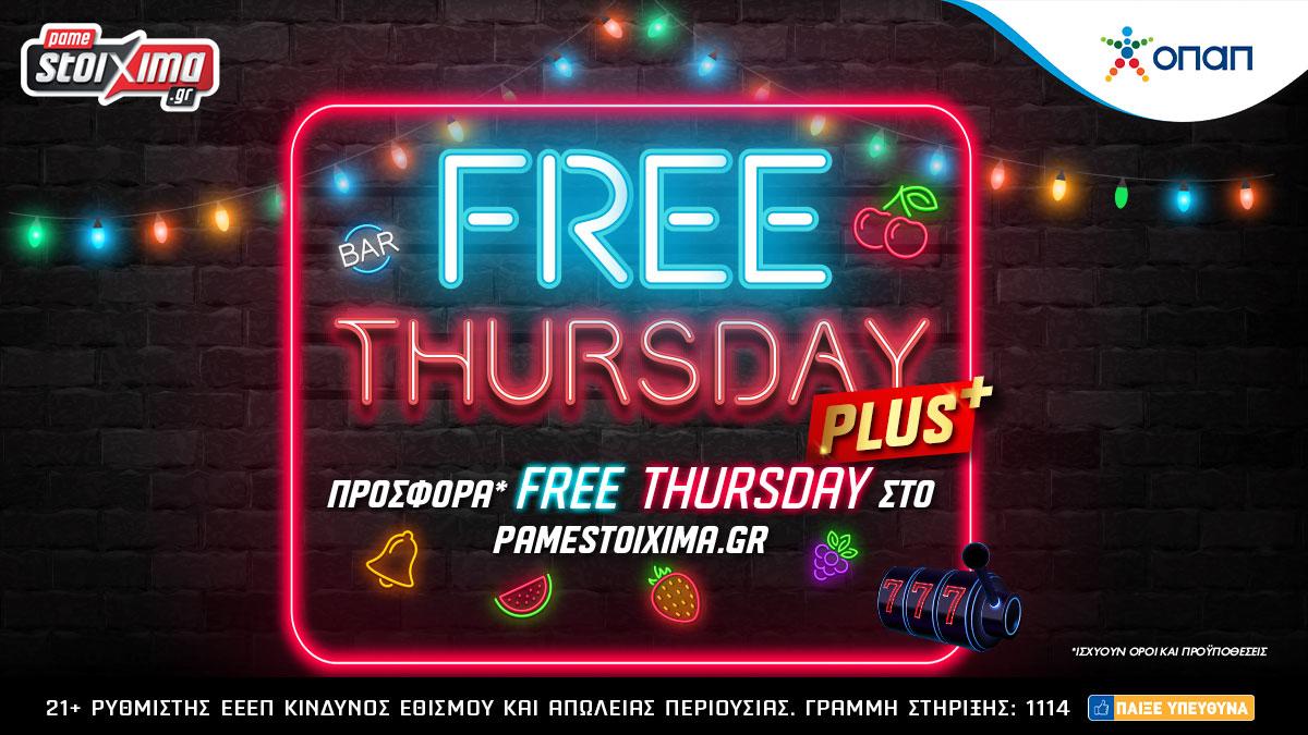 Pamestoixima Free Thursday Plus
